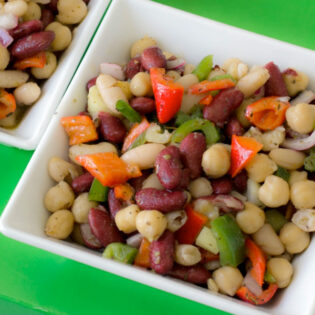 3 bean salad recipe