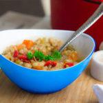 Tuscan Farro Minestrone Soup Recipe