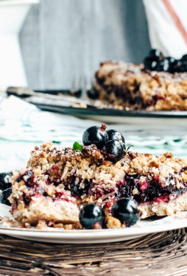 Blueberry Oat Crunch
