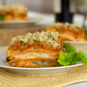 CLEAN Gluten Free/ Dairy Free Vegetable Lasagna Recipe