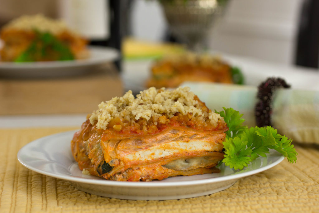 Dairy Free Vegetable Lasagna Recipe