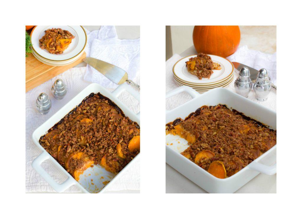 Gluten Free Hasselback Sweet Potato Casserole Recipe