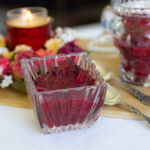 Clean Cranberry Apple Sauce Recipe (with No Refined Sugar)