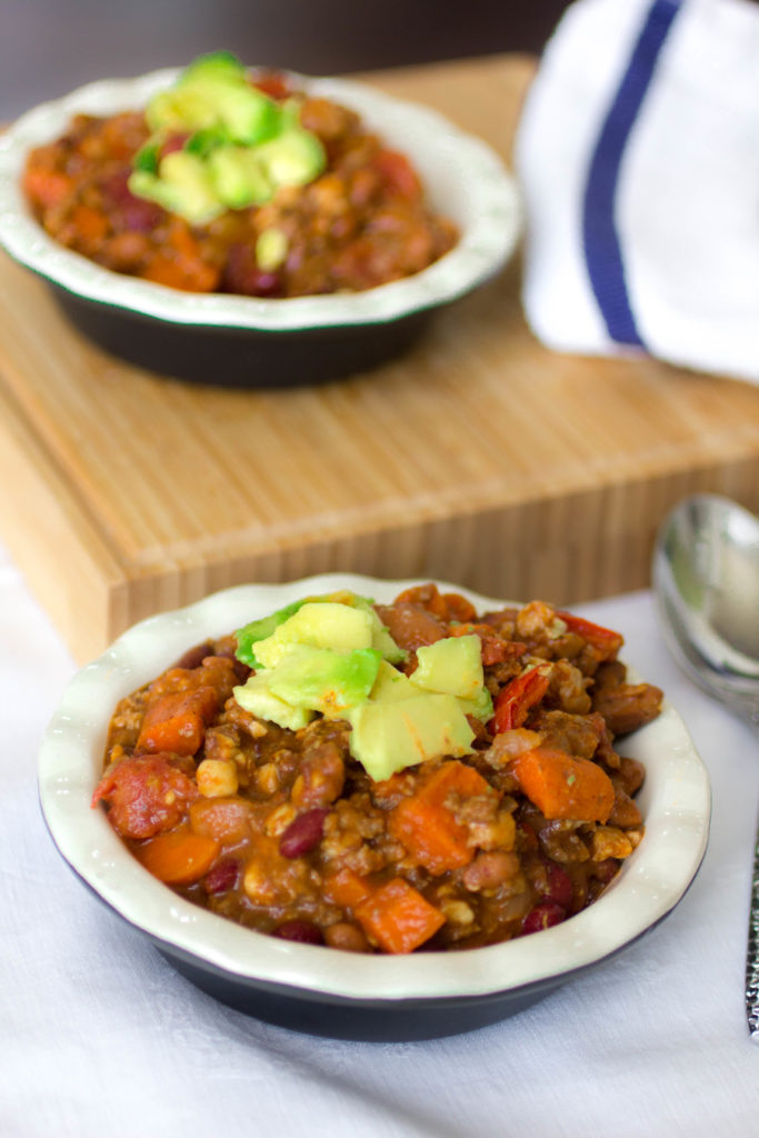 Instant Pot Beef Chili Recipe with Plant Protein