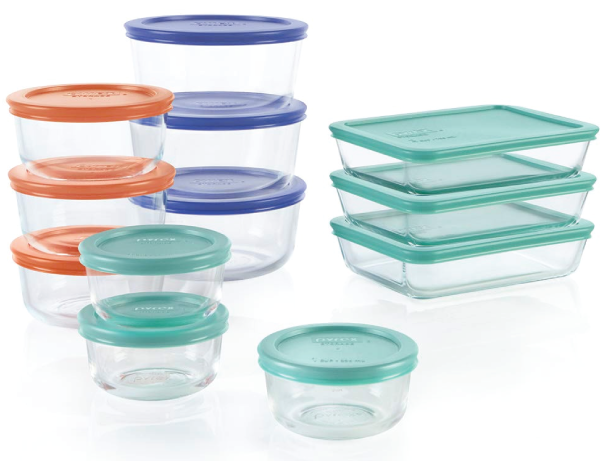 Pyrex Simply Store Glass Storage Starter Set