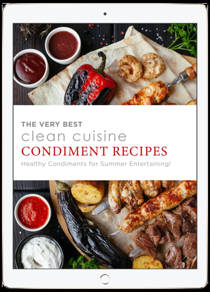 clean cuisine condiment ebook