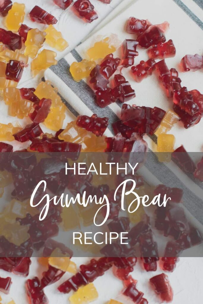 Healthy Gummy Recipe Pinterest Pin