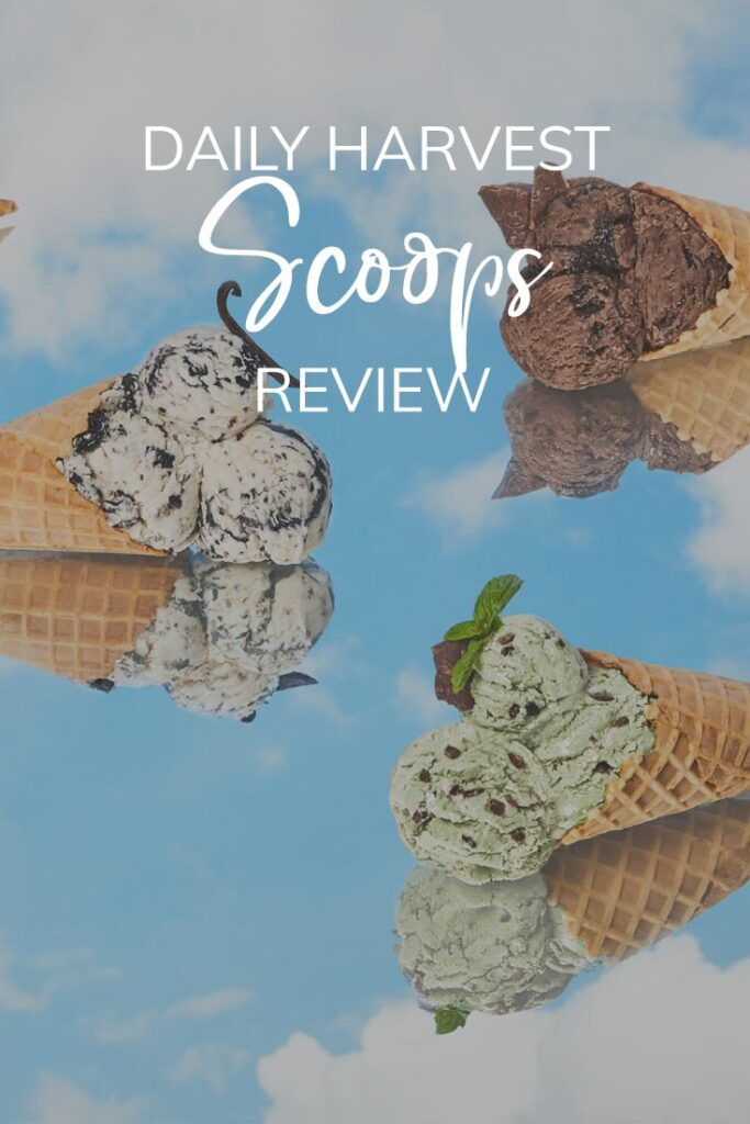 DAILY HARVEST SCOOPS PINTEREST PIN
