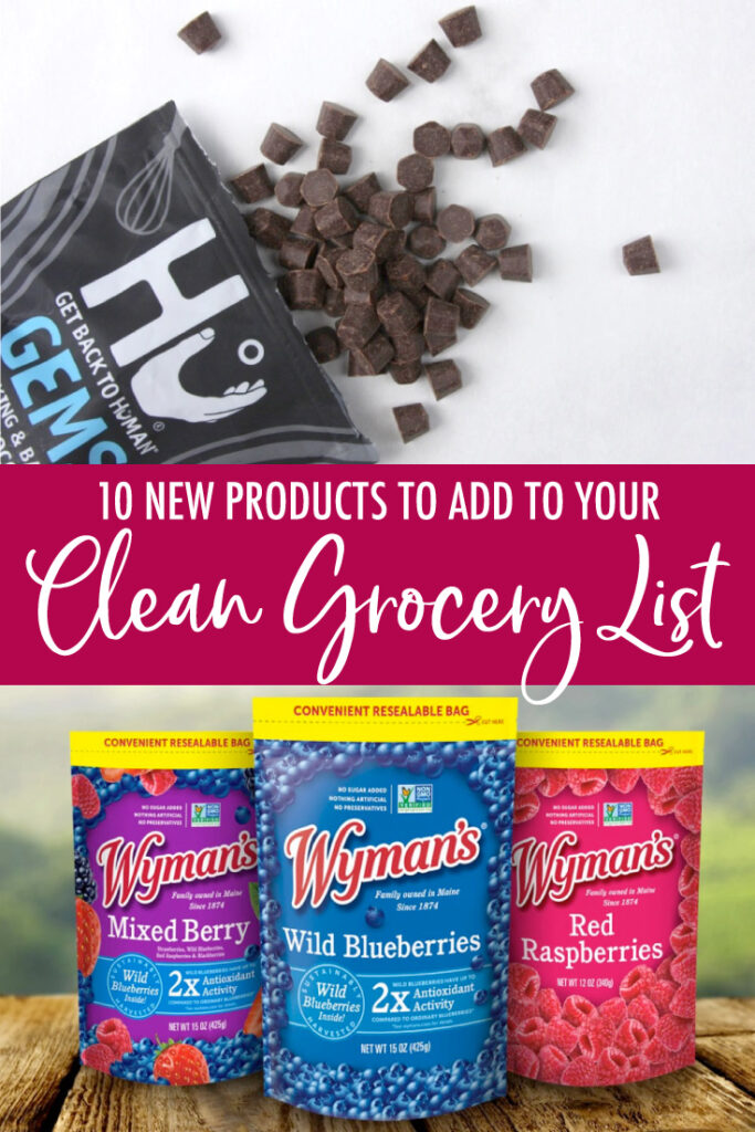 10 new products for your clean grocery list