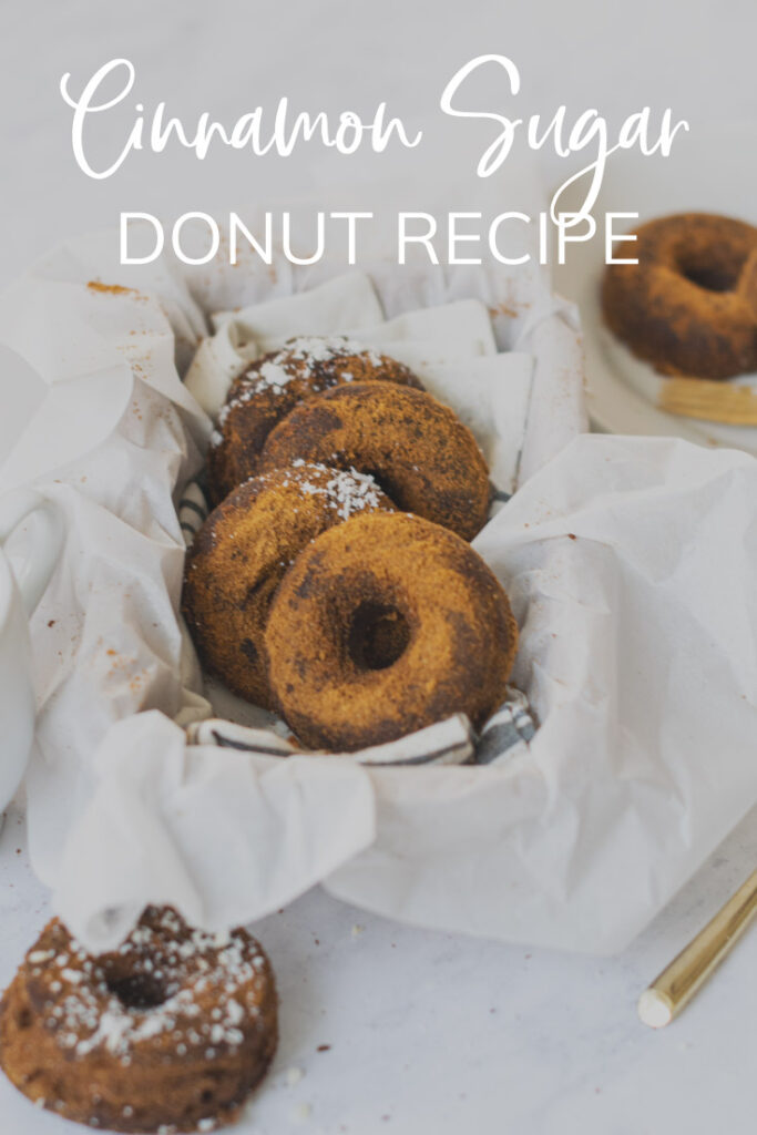 Cinnamon Sugar Donut Pinterest Pin