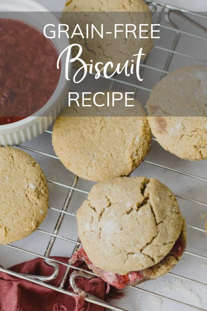 Grain-Free Biscuit Recipe Pinterest Pin