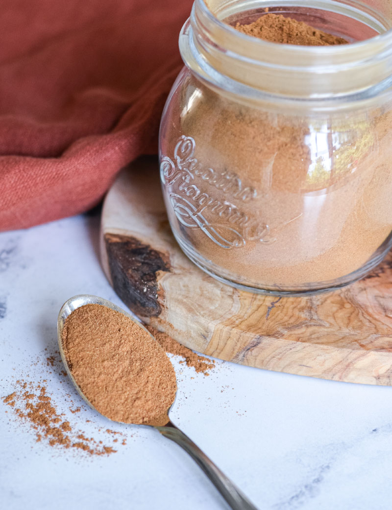 Recipe for Pumpkin Pie Spice