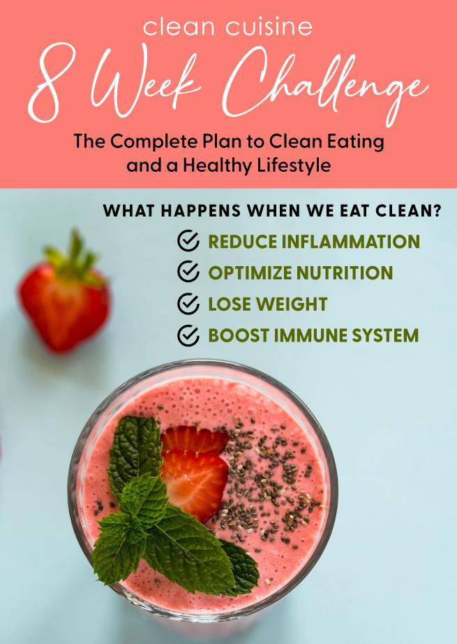 8 Week Clean Eating Challenge